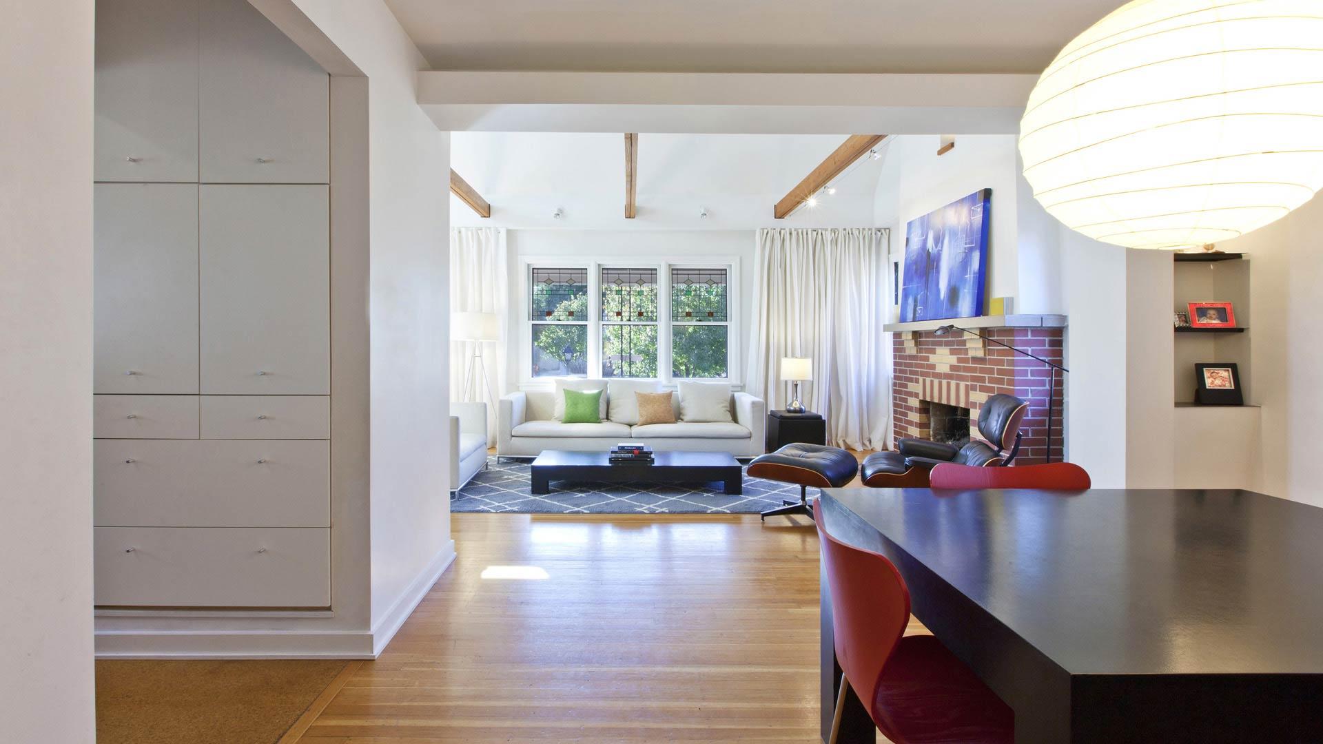 Classic Irvington Tudor Remodel - Dining Living - Christopher Short, Architect, Indianapolis, HAUS Architecture