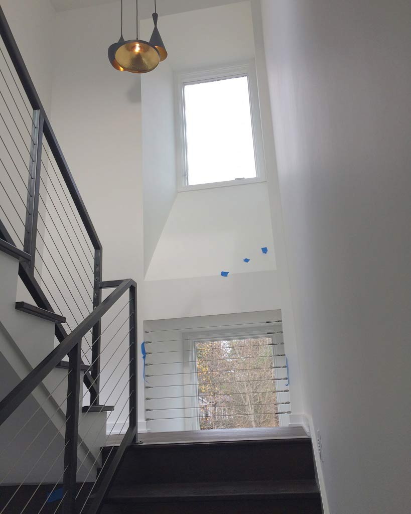 New Modern House Ditch - Architectural Stair Progress