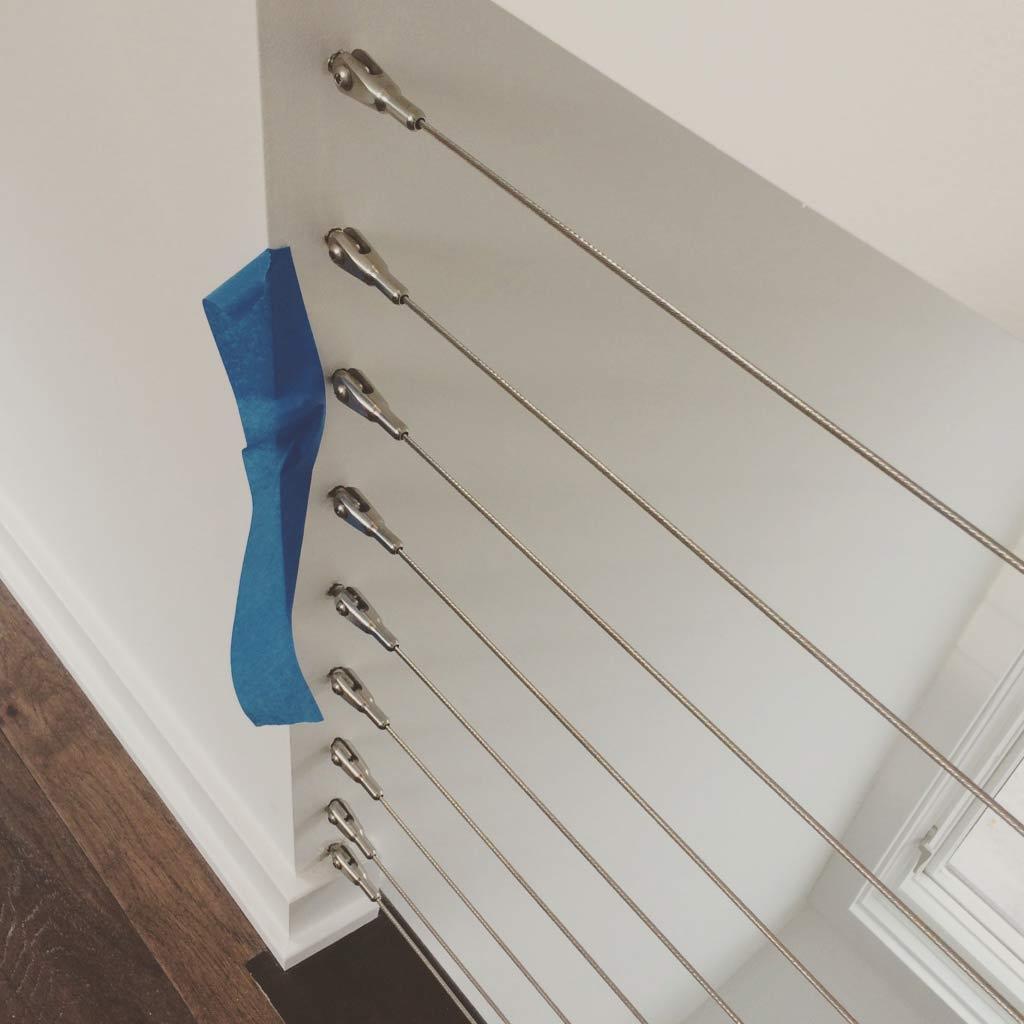 New Modern House Ditch - Guardrail Detail