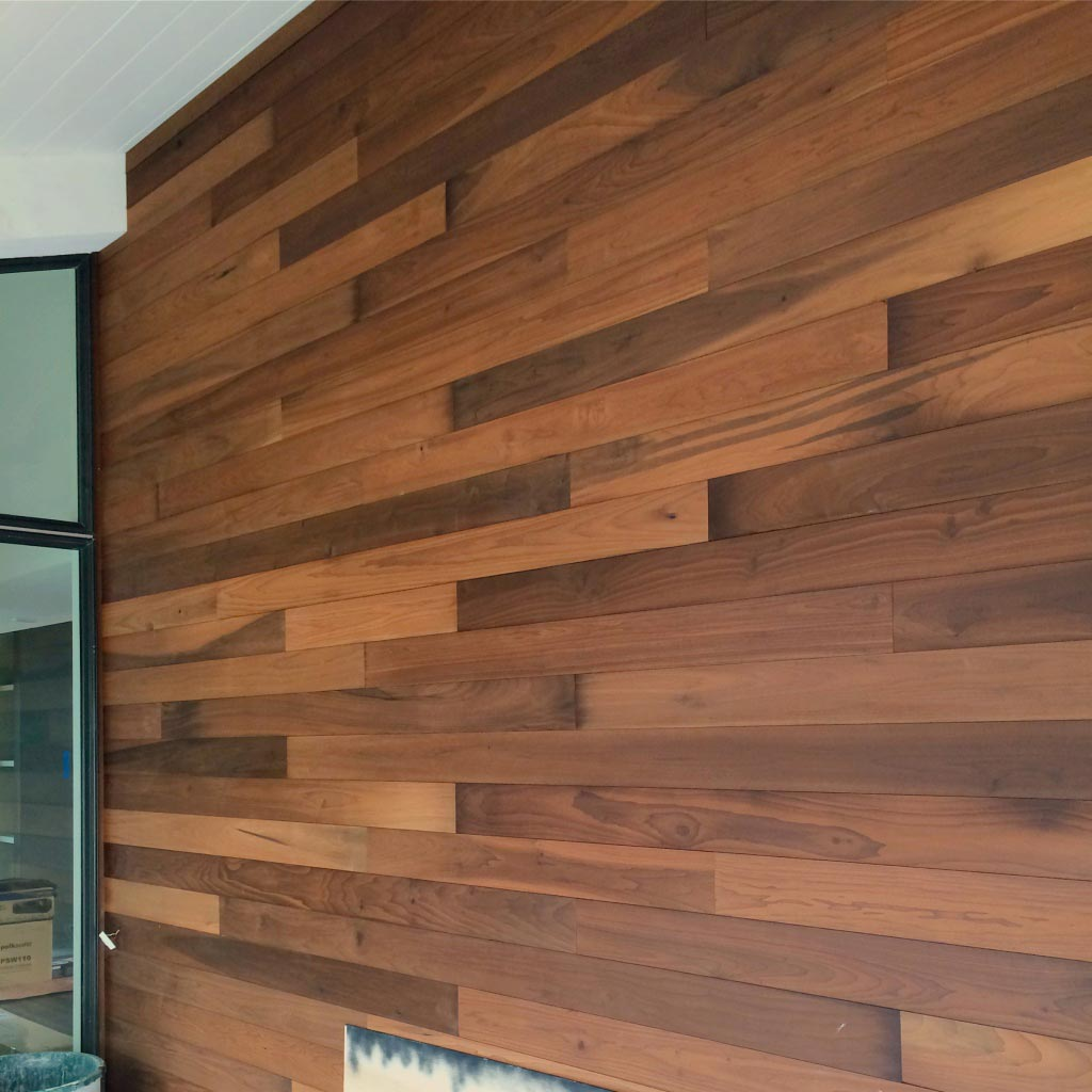 New Modern House Ditch - Entry Porch Cladding