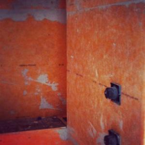 Butler Tarkington Modern Tudor - Master Shower Progress - WERK Building Modern