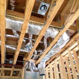 New Modern House 3 - high velocity HVAC