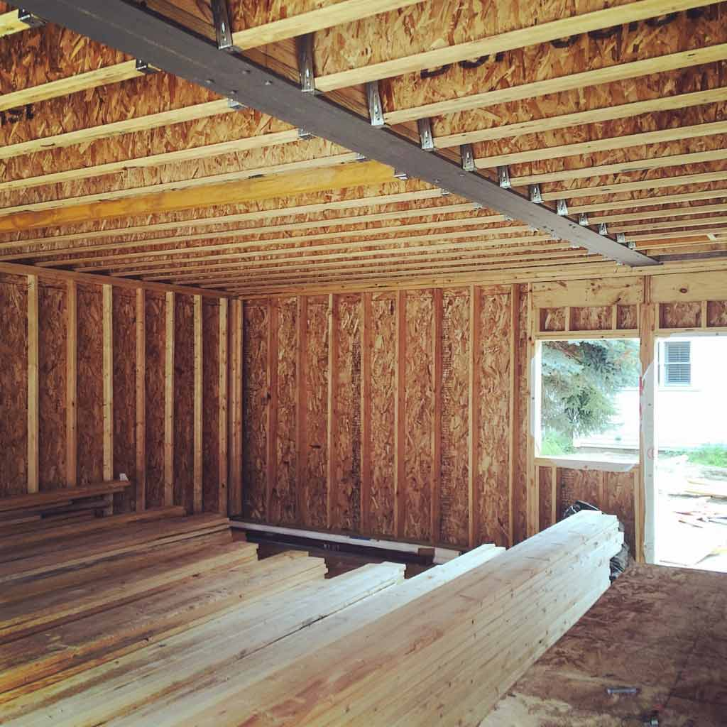 New Carriage House - Old Northside - Garage Level