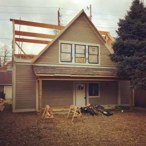 New Carriage House - Old Northside - Porchside Gable