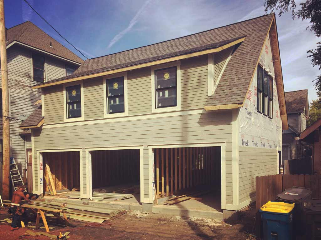 New Carriage House - Old Northside - Alley Progress
