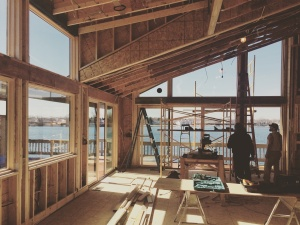 Modern Lakehouse Clearwater - New Window Installations - WERK Building Modern