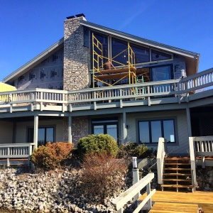 Modern Lakehouse - Window Installation - WERK Building Modern