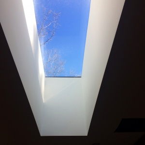 Midcentury Modern Renovation 2 - Entry Skylight - HAUS Architecture