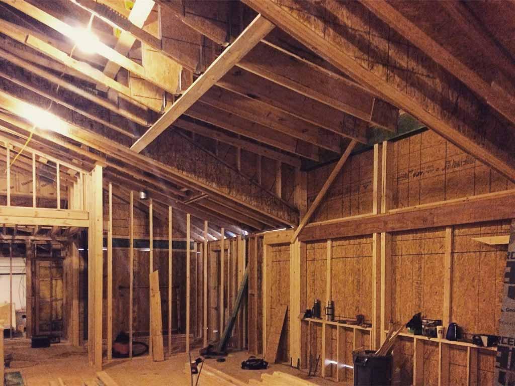 Modern Lakehouse - Rough Carpentry