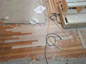 Broad Ripple Modern Craftsman Renovation - Old Floor Meets New - Paul Reynolds - WERK Building Modern