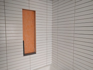 Broad Ripple Modern Craftsman Renovation - Shower Tile Surround - Paul Reynolds