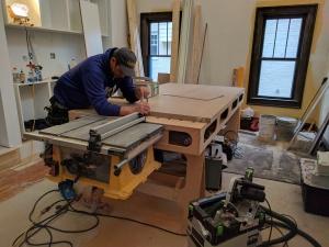 Broad Ripple Modern Craftsman Renovation - Dialing in the Doors, WERK Building Modern, Paul Reynonlds