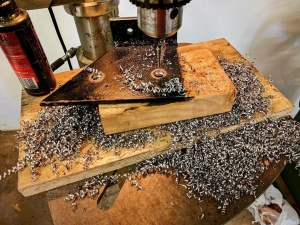 Broad Ripple Modern Craftsman - Beam Brackets - Paul Reynolds, WERK Building Modern