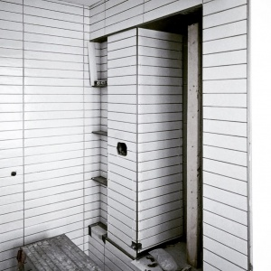 Broad Ripple Modern Craftsman Renovation - Master Shower - Christopher Short, Architect, Indianapolis, HAUS Architecture