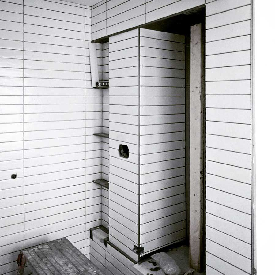 Broad Ripple Modern Craftsman Renovation - Master Shower