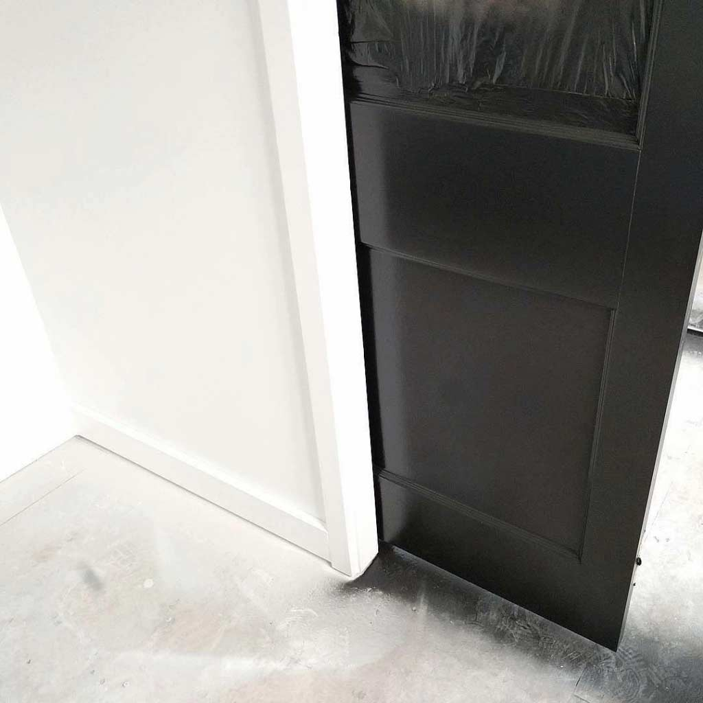 Broad Ripple Modern Craftsman - Pocket Door Paint