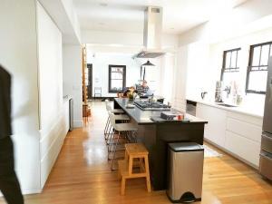 Broad Ripple Modern Craftsman - Kitchen View - Christopher Short, Architect, Indianapolis, HAUS Architecture