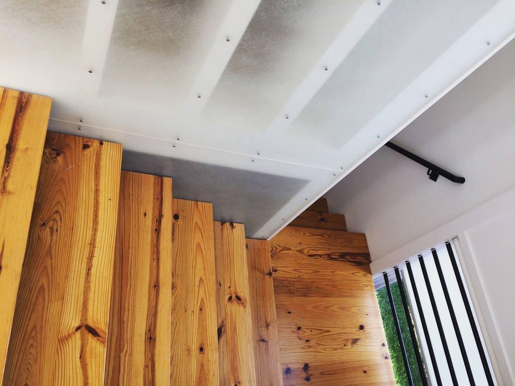 Classic Irvington Tudor Remodel - Stair Detail