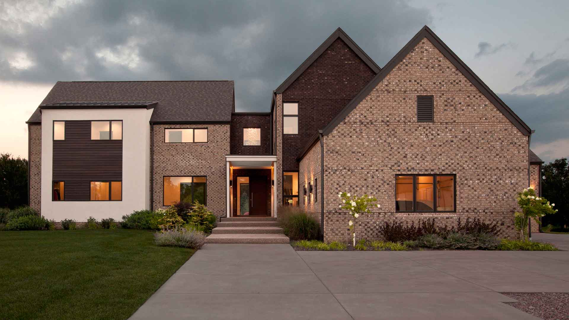 Latest Modern Front Elevation : New modern house treesdale haus architecture
