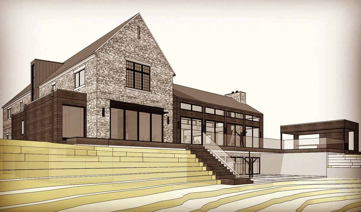New Modern Renovation Williams Creek - Morningside - Indianapolis - HAUS Architecture - Christopher Short Architect