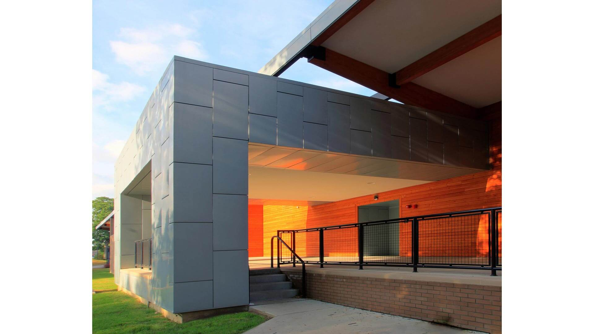 ZINC Cladding - Treatment Center - Lutheran Child and Family Services (LCFS) - Christopher Short - Indianapolis