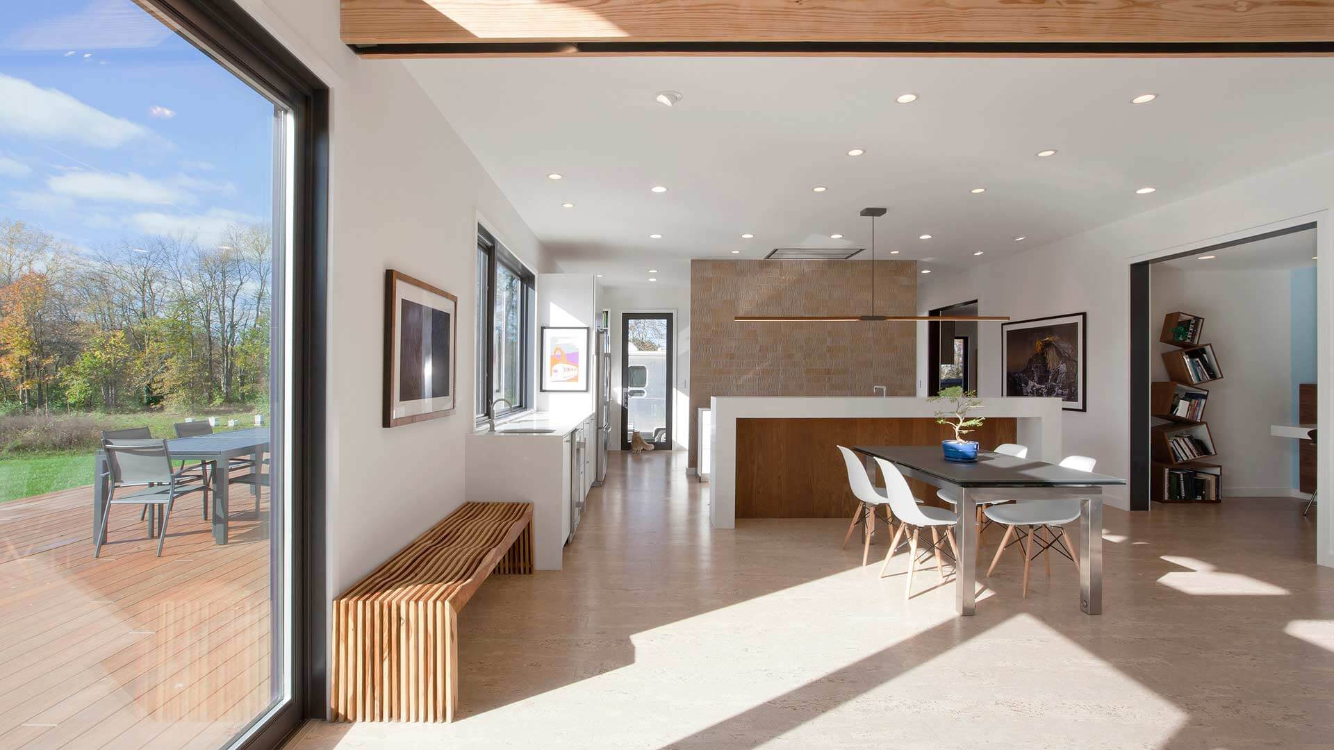 Glass Haus Green Bay : New modern house haus architecture