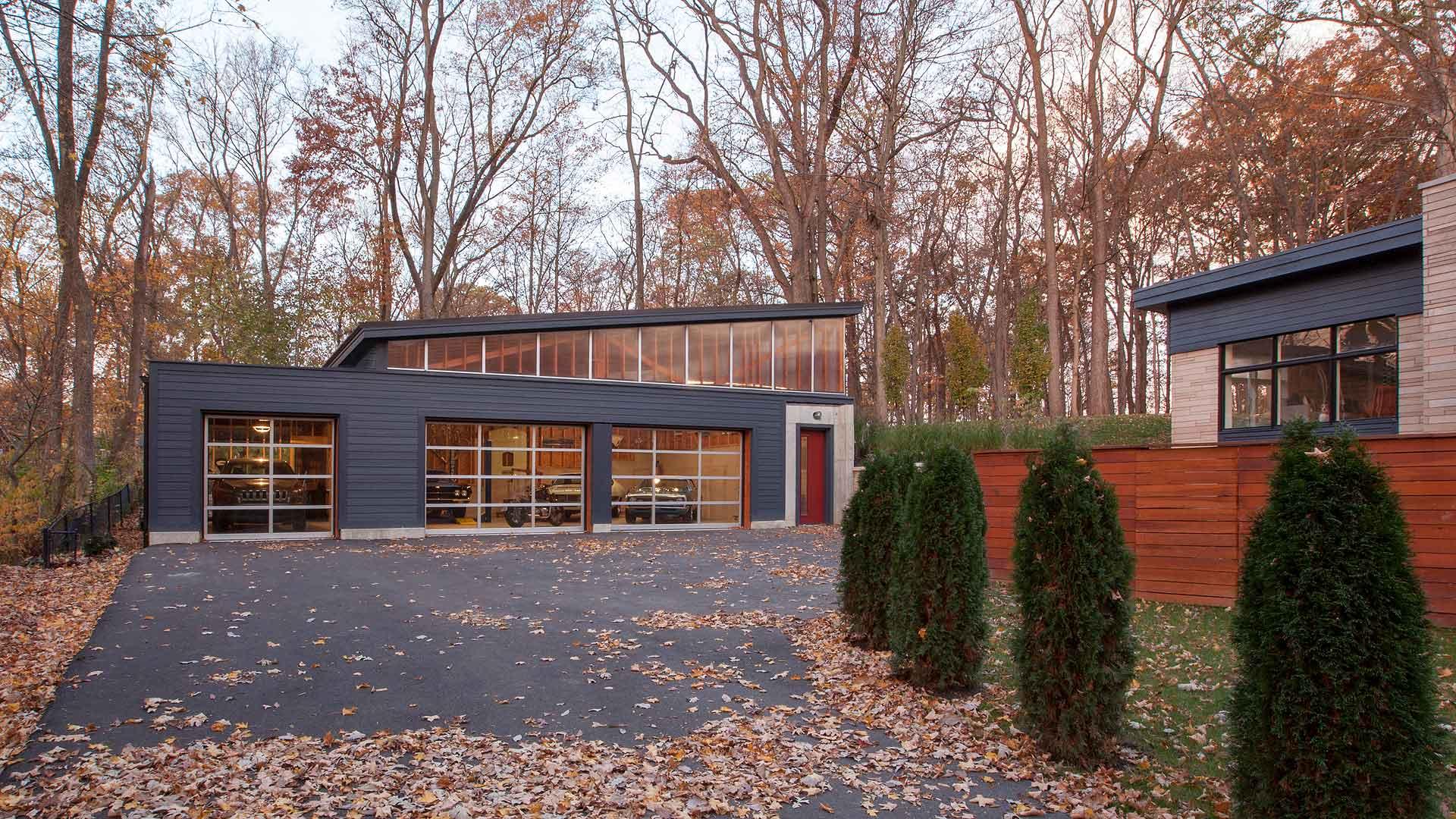 Vintage Modern Garage Haus Architecture For Modern