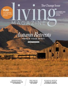 Living Magazine Cover - 2018-October - Midcentury Modern Renovation - 81st Street - Indianapolis, Christopher Short, Architect, HAUS Architecture