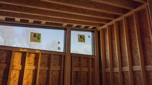 Guest Bedroom Clerestory Windows - Back40House - Pendleton, IN - HAUS | Architecture For Modern Lifestyles, Christopher Short, Indianapolis Architect - WERK | Building Modern, Paul Reynolds, Construction Manager