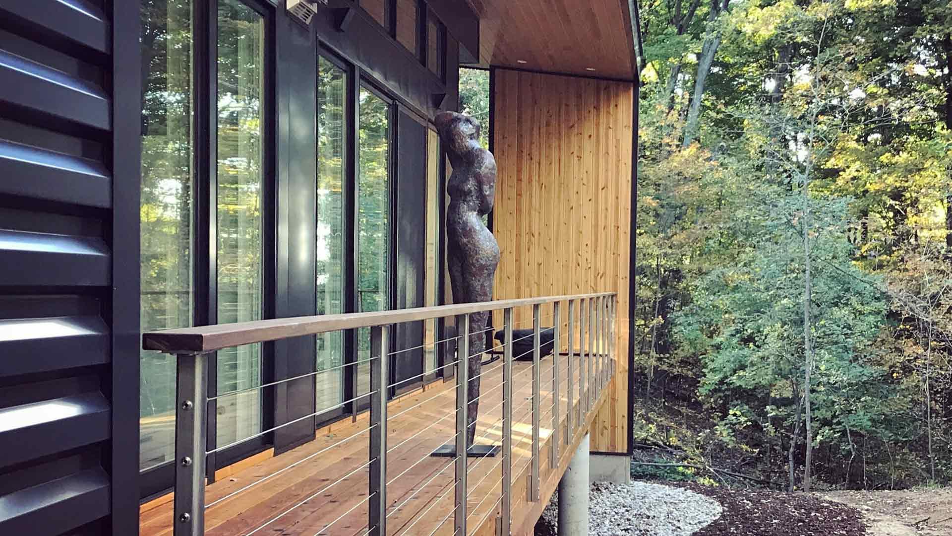 North Deck Overlook - Bridge House - Douglas, Michigan