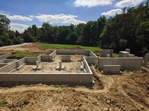 Foundation Walls Complete - Back40House - Pendleton, IN - HAUS | Architecture For Modern Lifestyles, Christopher Short, Indianapolis Architect - WERK | Building Modern, Paul Reynolds, Construction Manager
