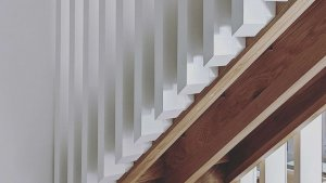 Crazy Details - Architectural Stair - Scandinavian Modern Interior - Indianapolis, IN - HAUS | Architecture For Modern Lifestyles + WERK | Building Modern