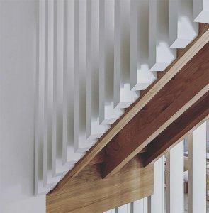 Architectural Stair Detail - Scandinavian Modern Interior - Indianapolis, IN - HAUS | Architecture For Modern Lifestyles + WERK | Building Modern