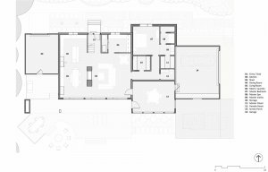 New Floor Plan - Lakeside Modern Cottage (H-LODGE) - Unionville, Indiana, Lake Lemon - HAUS Architecture