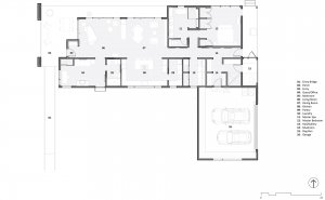 Floor Plan - Bridge House - Fenneville, Michigan - Lake Michigan - Pier Cove Valley